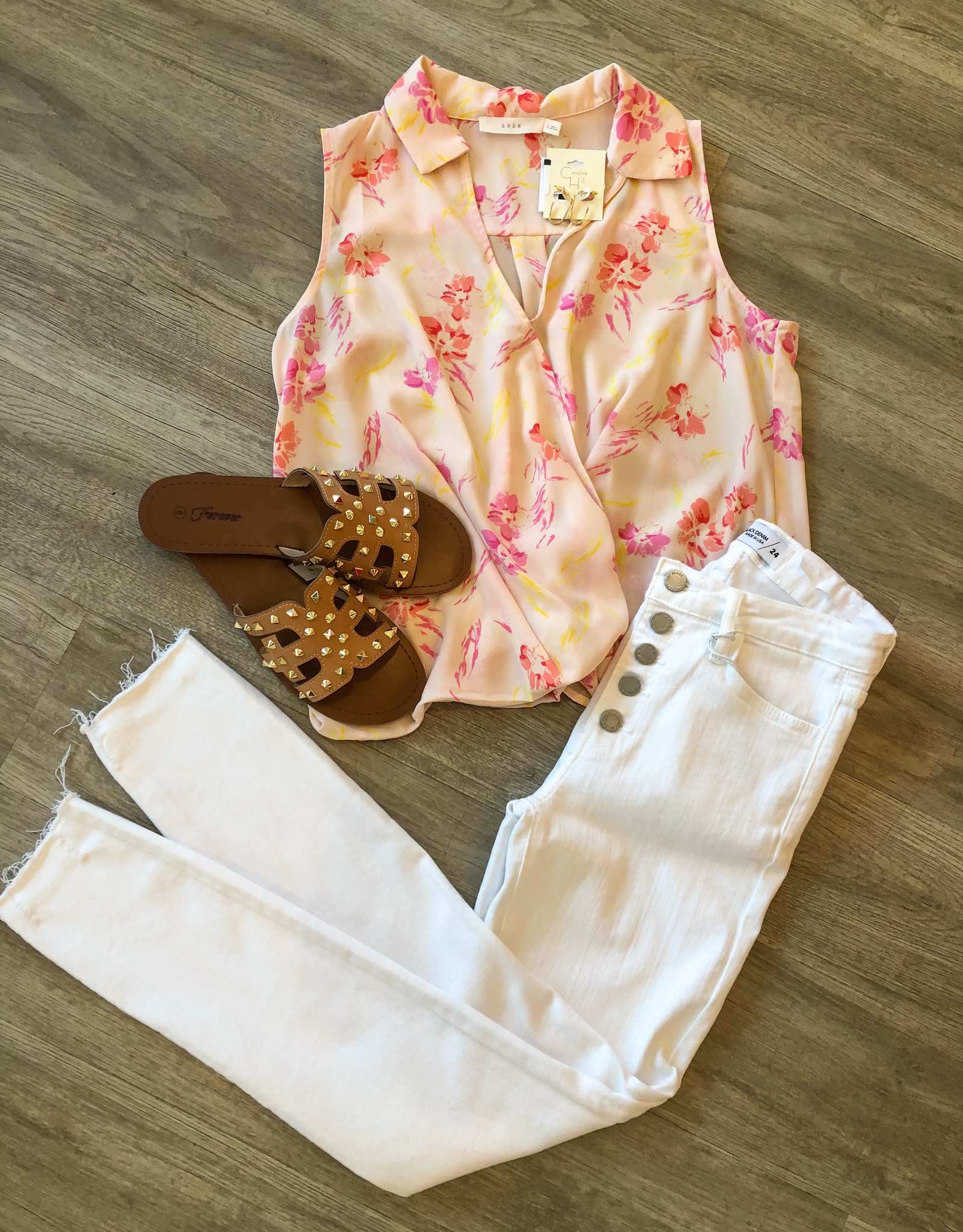 Laney White Skinny Jean