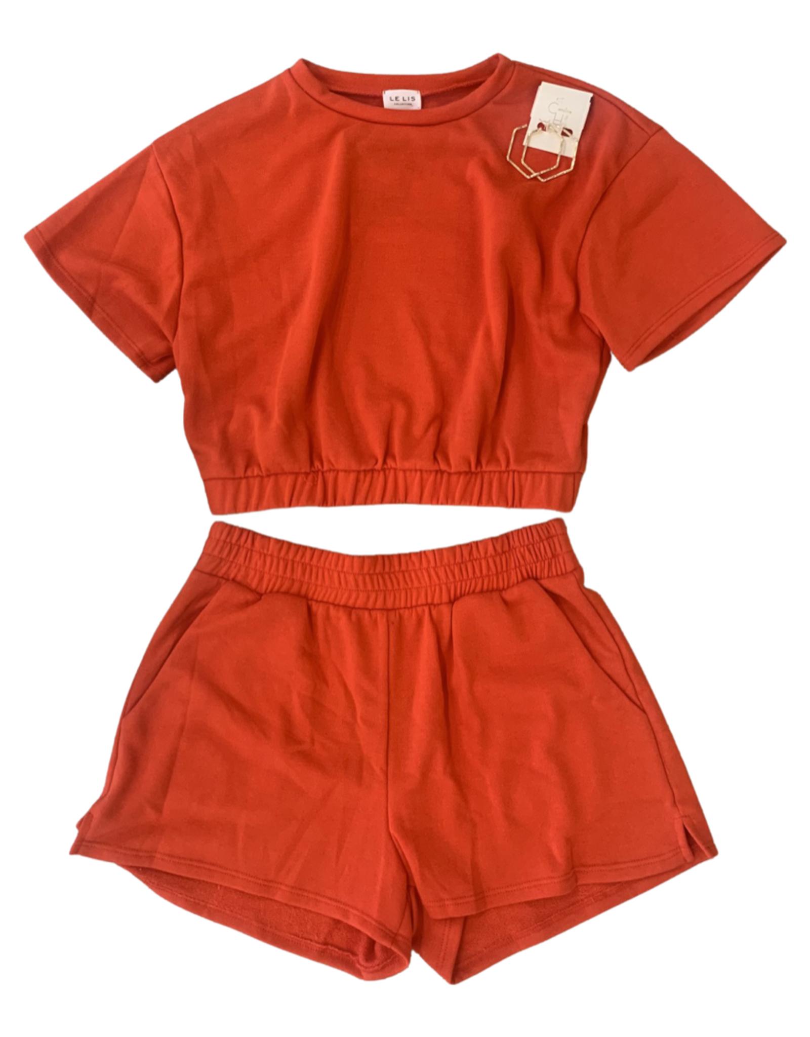 lelis Red Hot Lounge Shorts