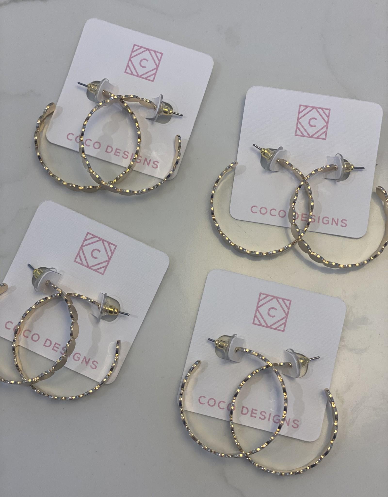 Coco Designs Tinsley Hoop