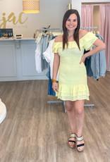 Golden Glow Dress