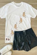 lotus fashion Go Tigers Go White Tee