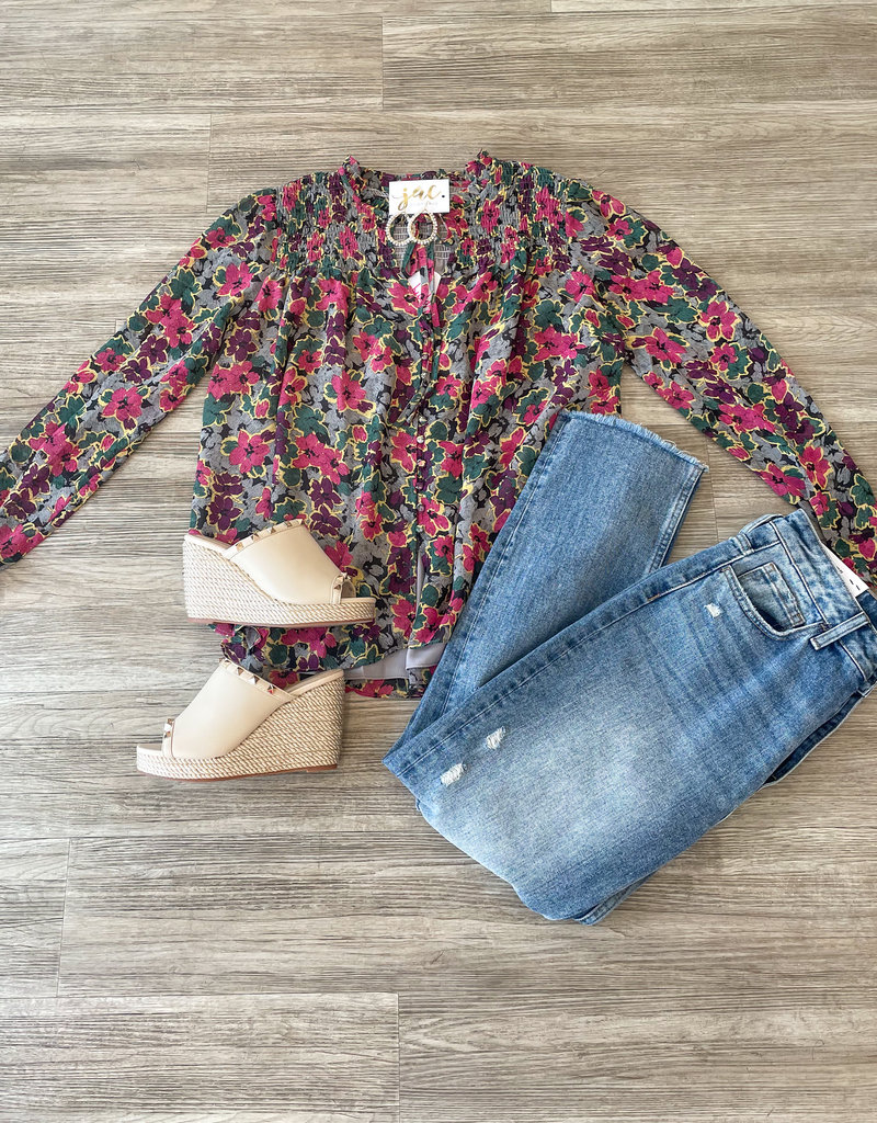 Buddy Love Everly Blooms Top