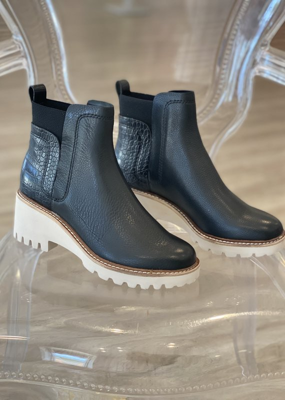 Dolce Vita Huey Black Leather Bootie