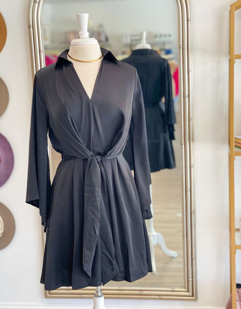 D-2435 Kimmy Dress Black