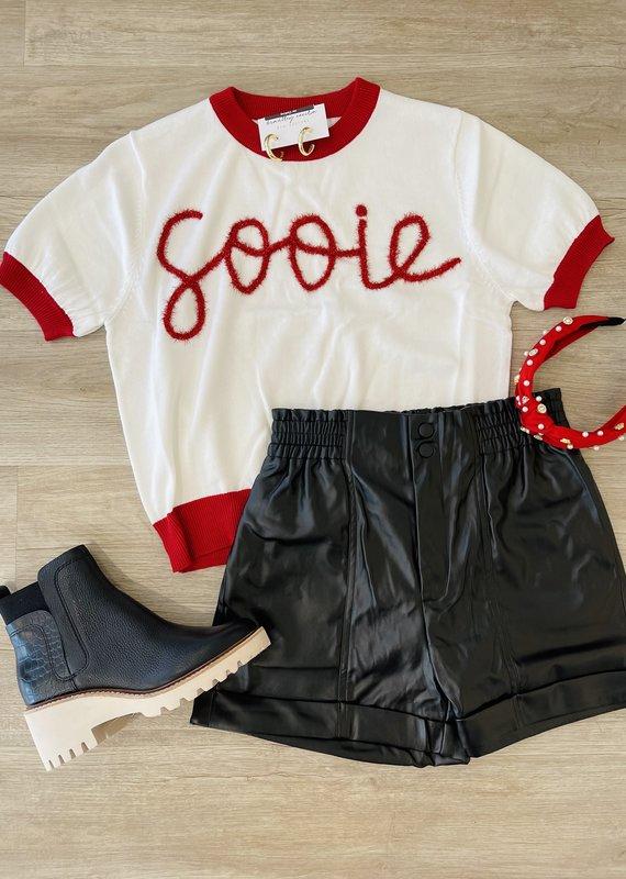 Queen of Sparkles Sooie Top