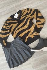 Sparkle City Tiger Print Sweater