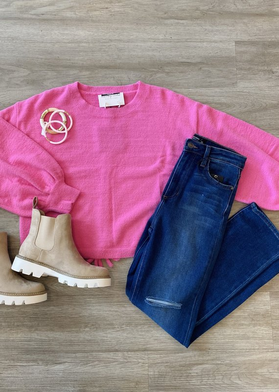 Tickle Me Pink Sweater