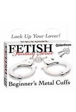 FETISH FANTASY FETISH FANTASY - BEGINNER'S METAL CUFFS