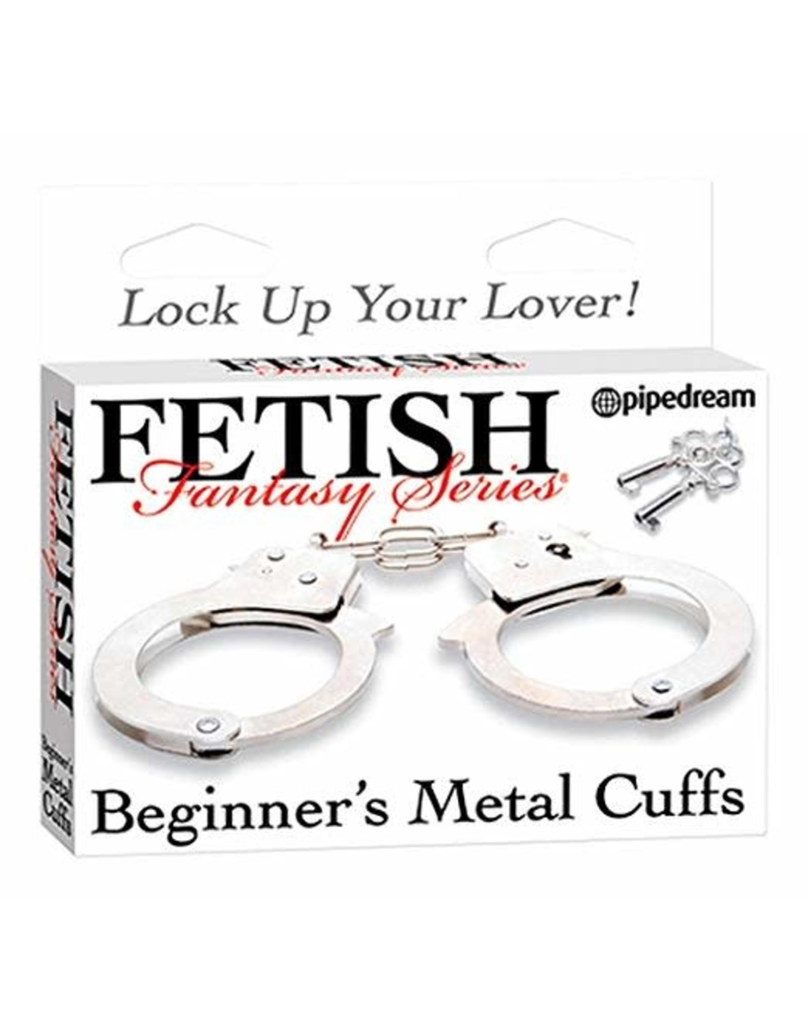 FETISH FANTASY - BEGINNER'S METAL CUFFS