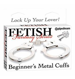 FETISH FANTASY - BEGINNER'S METAL CUFFS