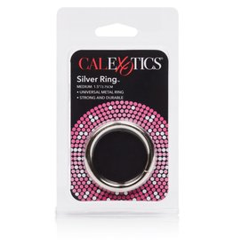 "CALEXOTICS CALEXOTICS - ALLOY METALLIC RING - MEDIUM 1.5""X3.75CM"