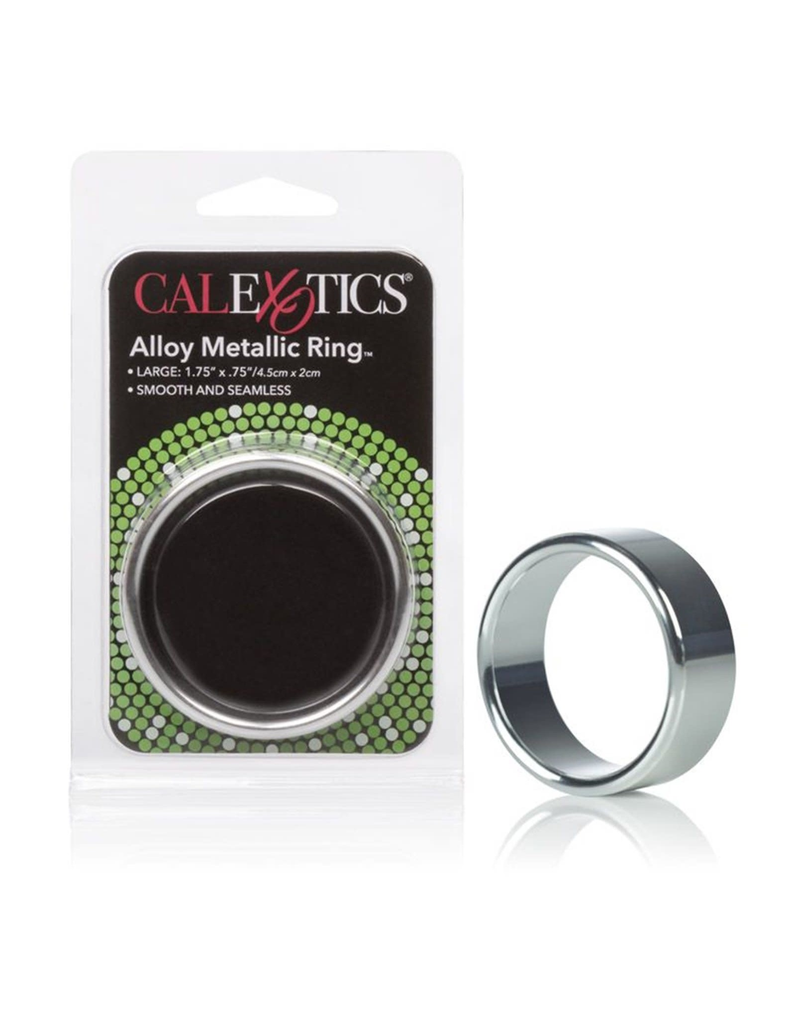 "CALEXOTICS CALEXOTICS - ALLOY METALLIC RING - LARGE 1.75""X.75"""