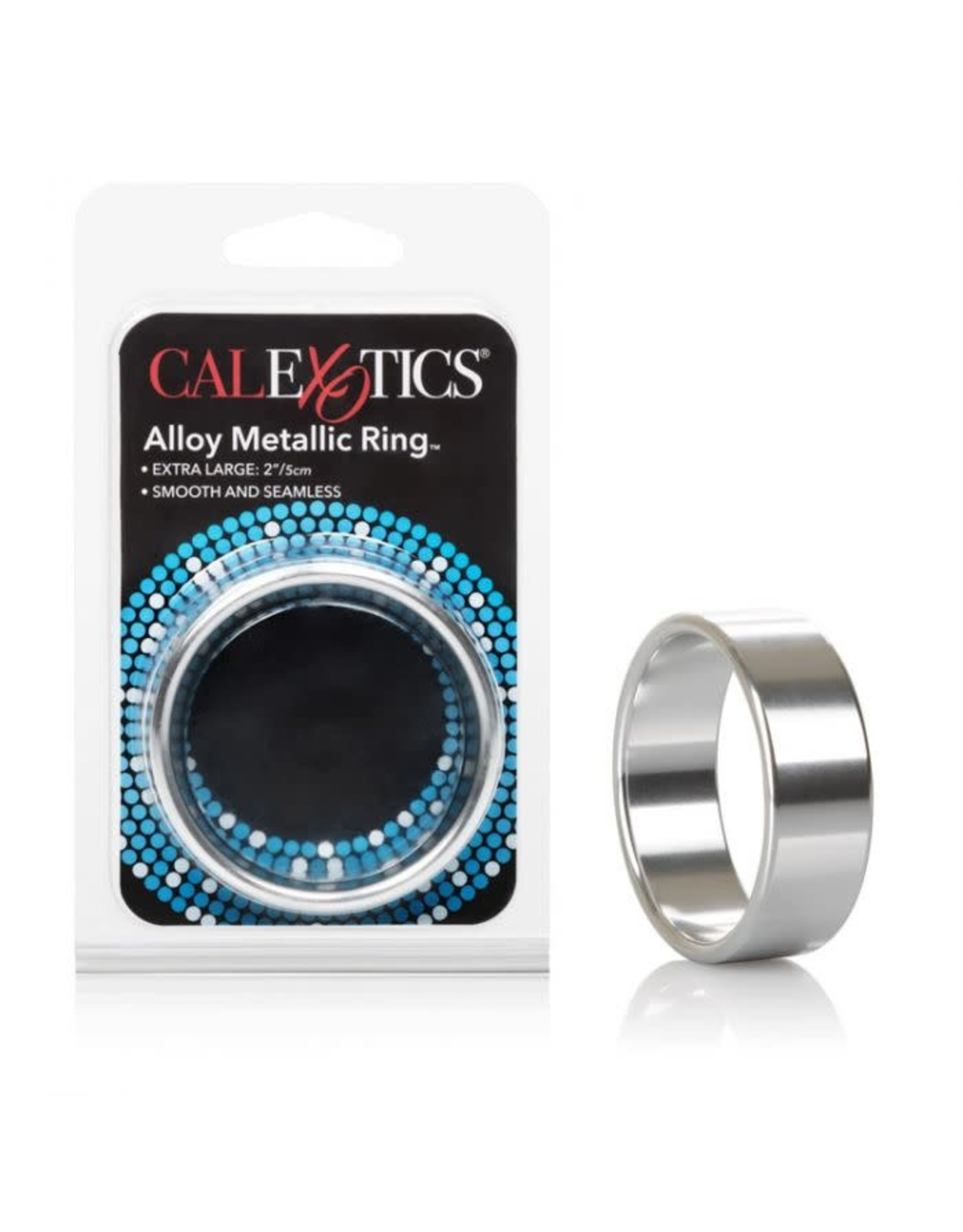 "CALEXOTICS - ALLOY METALLIC RING - XLARGE 2"""