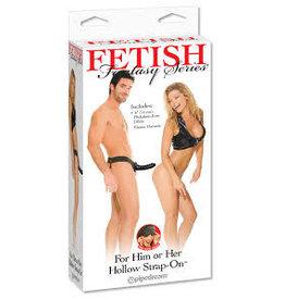 FETISH FANTASY FETISH FANTASY - HOLLOW STRAP-ON HIM OR HER - BLACK