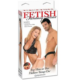 FETISH FANTASY FETISH FANTASY - HOLLOW STRAP-ON - FLESH