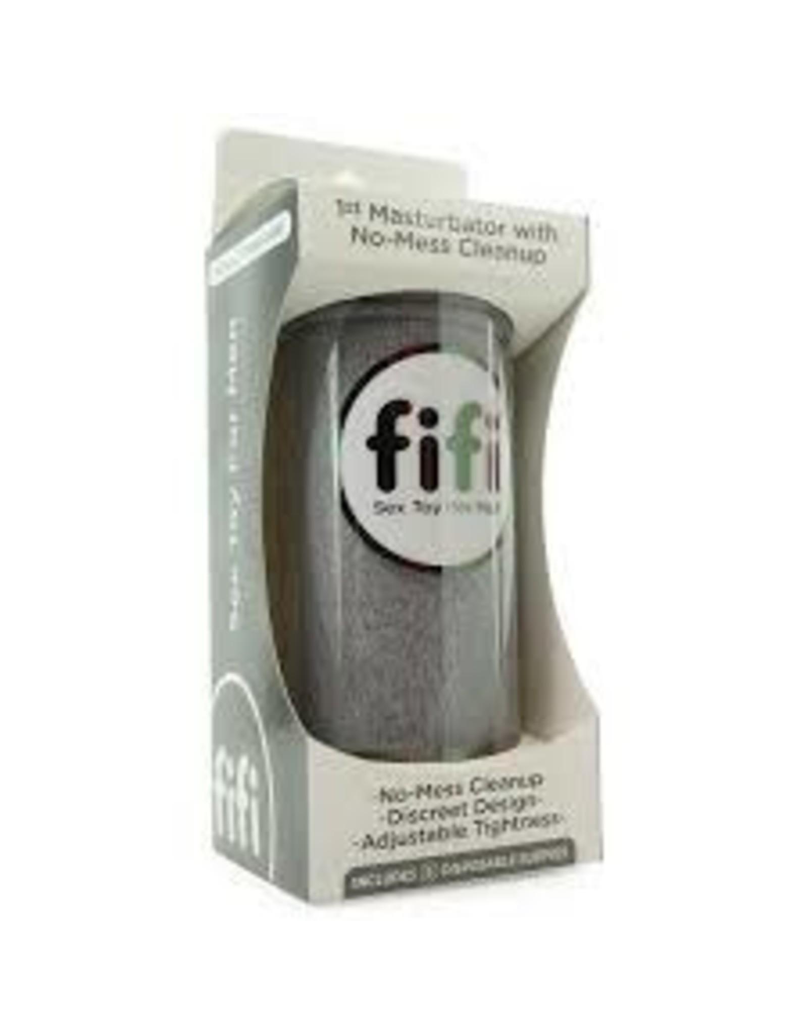 FIFI - NO-MESS STROKER - GREY