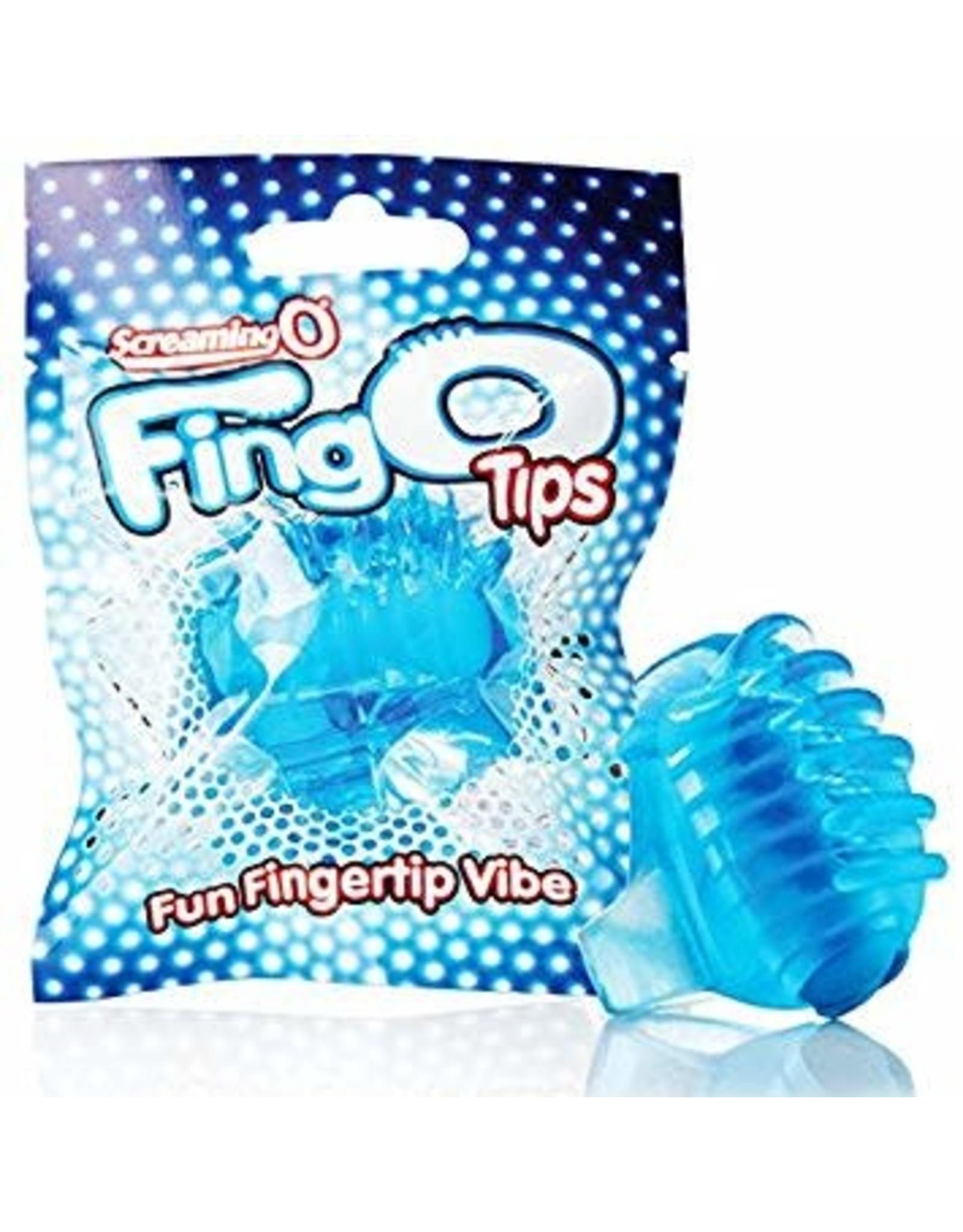 SCREAMING O - FINGO TIPS - BLUE