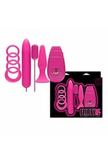FLIRTY KIT SET FOR COUPLES - PINK