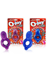 SCREAMING O - O-JOY STIMULATING COCK RING - ASSORT COLOR