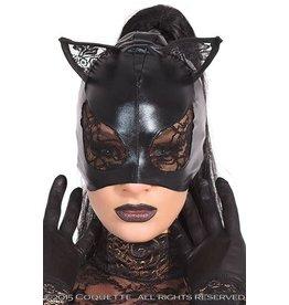 MASQUERADE COQUETTE CAT MASK