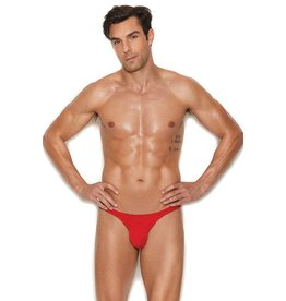 ELEGANT MOMENTS RAAH - MICRO MINI THONG - RED IT AND WEEP - S/M