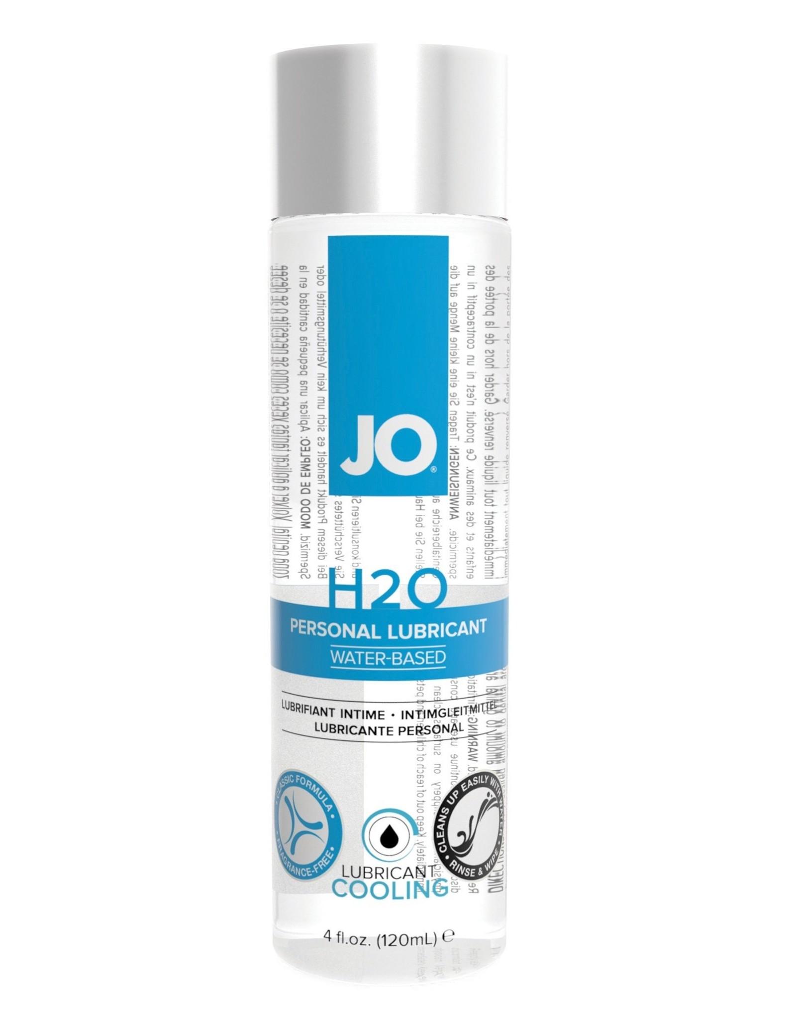 SYSTEM JO JO - H2O WATER BASED LUBE - 120/4OZ