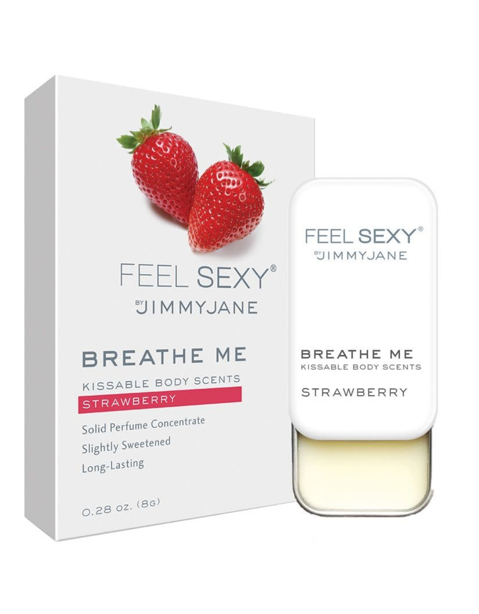 JIMMY JANE - BREATHE ME KISSABLE BODY SCENTS - STRAWBERRY