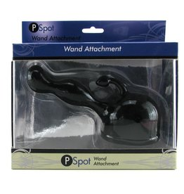 WAND ESSENTIALS - P-SPOT WAND ATTACHMENT - BLACK