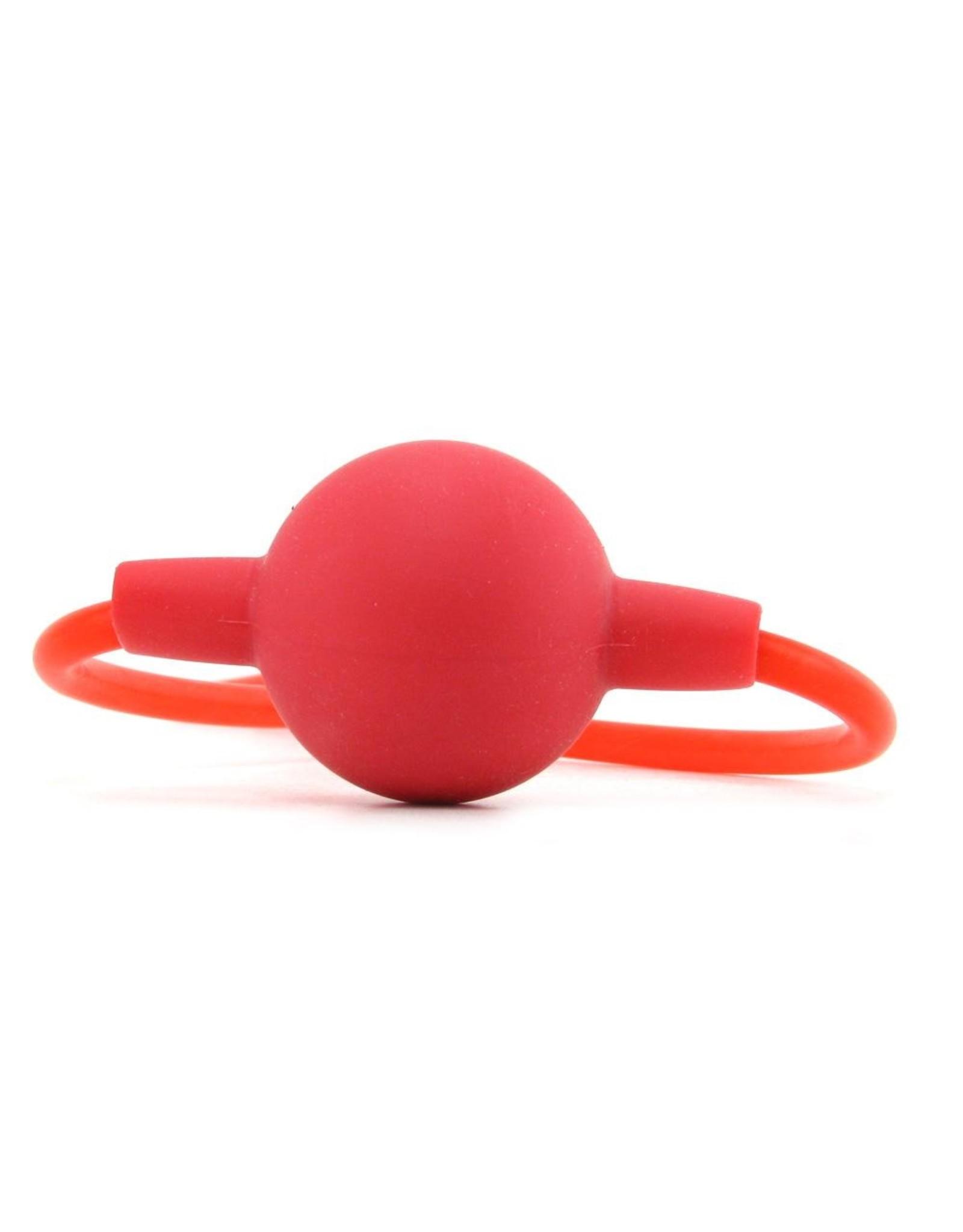 CALEXOTICS CALEXOTICS - SILICONE BALL GAG - RED