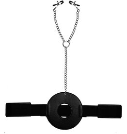 MASTER SERIES - DETAINED RESTRAINT SYSTEM W/NIPPLE CLAMP