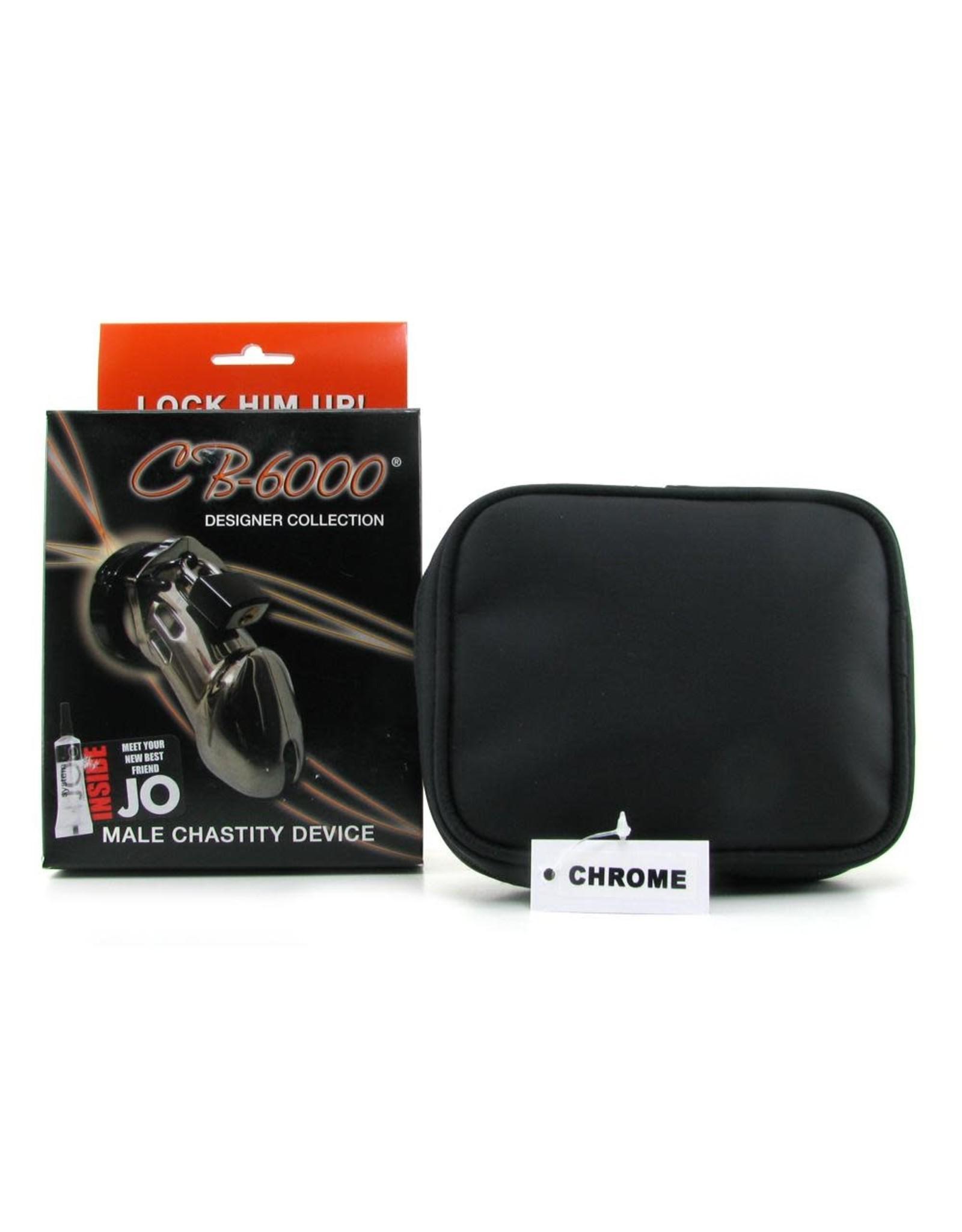 CBX - CB 6000 MALE CHASTITY DEVICE - CHROME 3 1/4 INCH