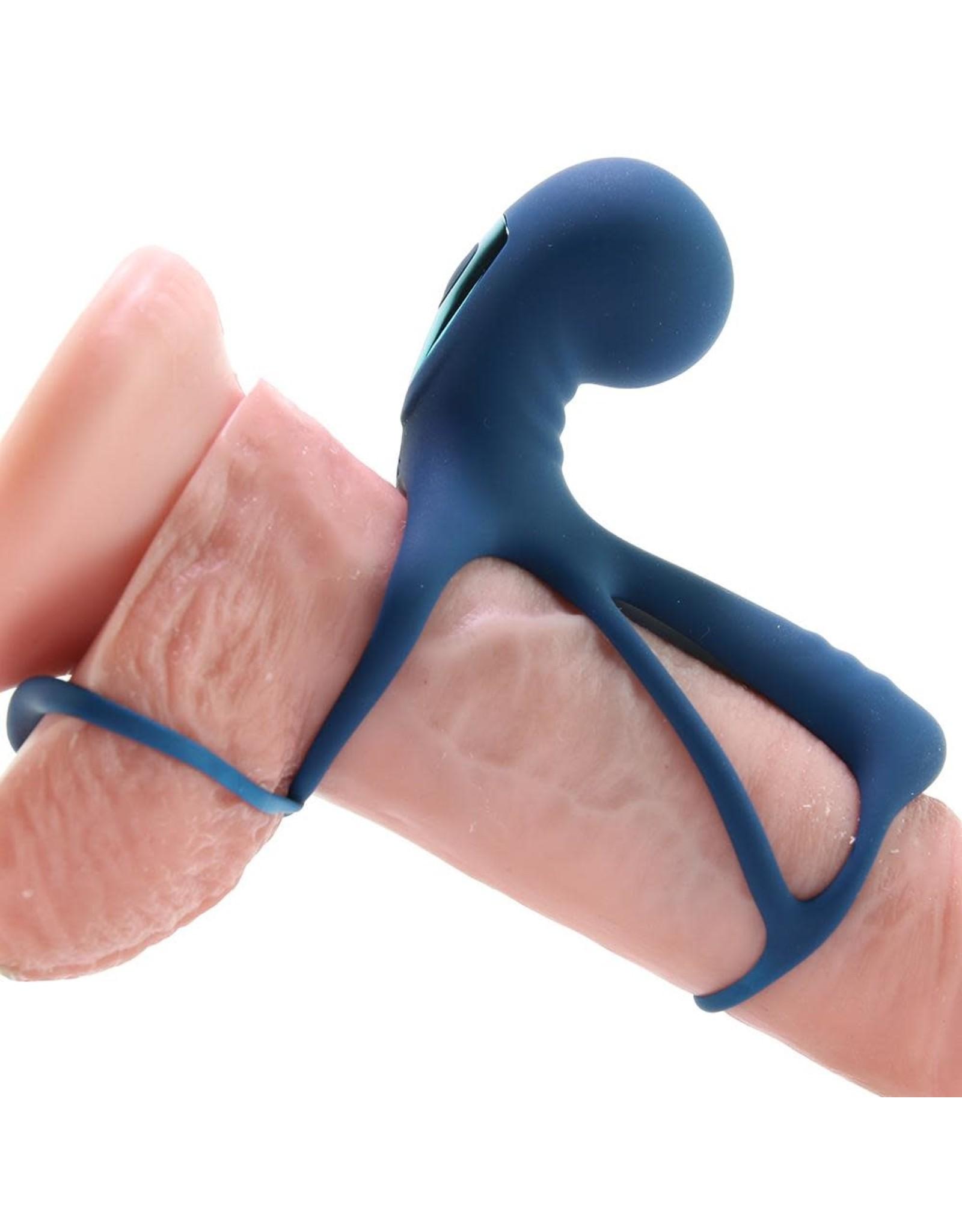 NS - RENEGADE GLADIATOR PENIS HARNESS - BLUE
