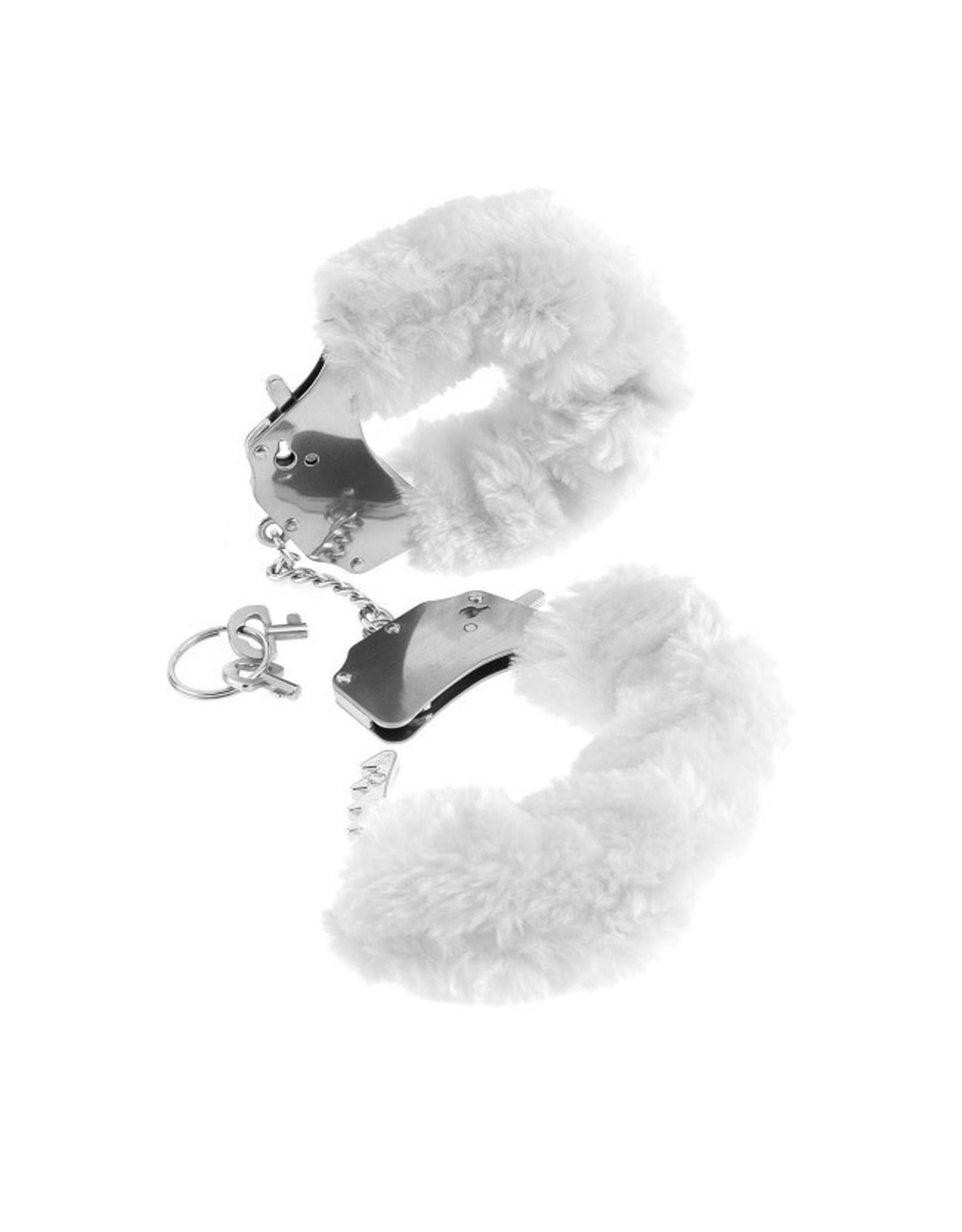 FETISH FANTASY - FURRY CUFF - WHITE