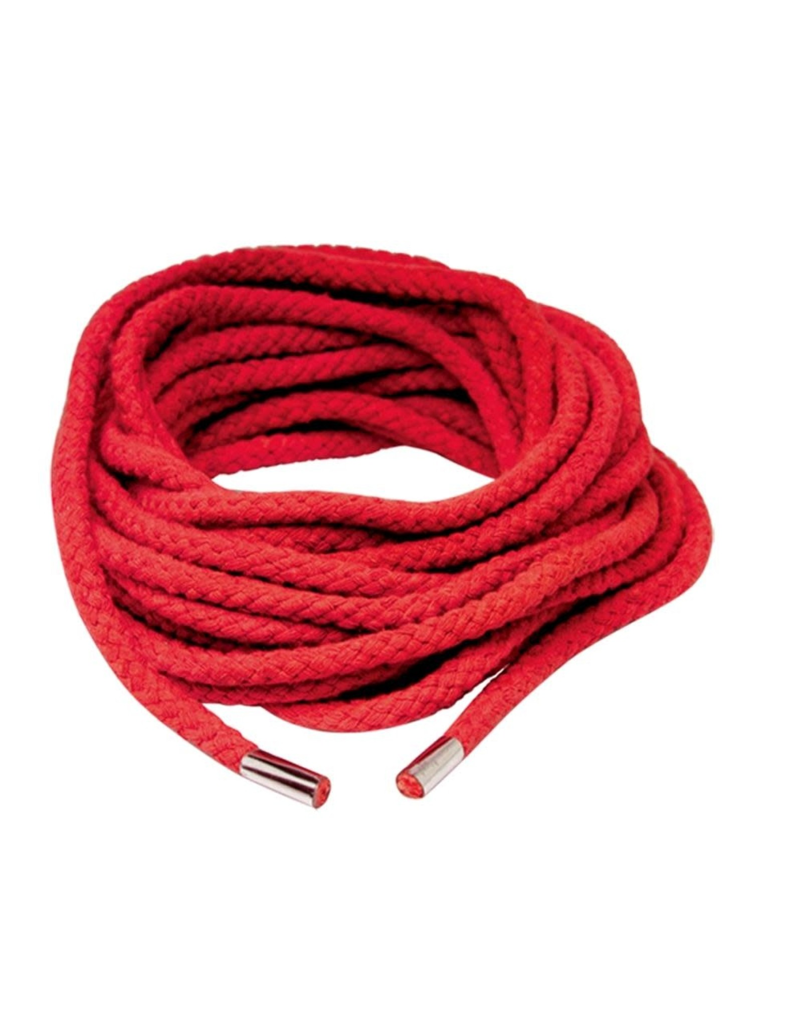 FETISH FANTASY PIPEDREAM - FETISH FANTASY - JAPANESE SILK ROPE - RED