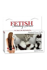FETISH FANTASY FETISH FANTASY - FURRY CUFFS - ZEBRA