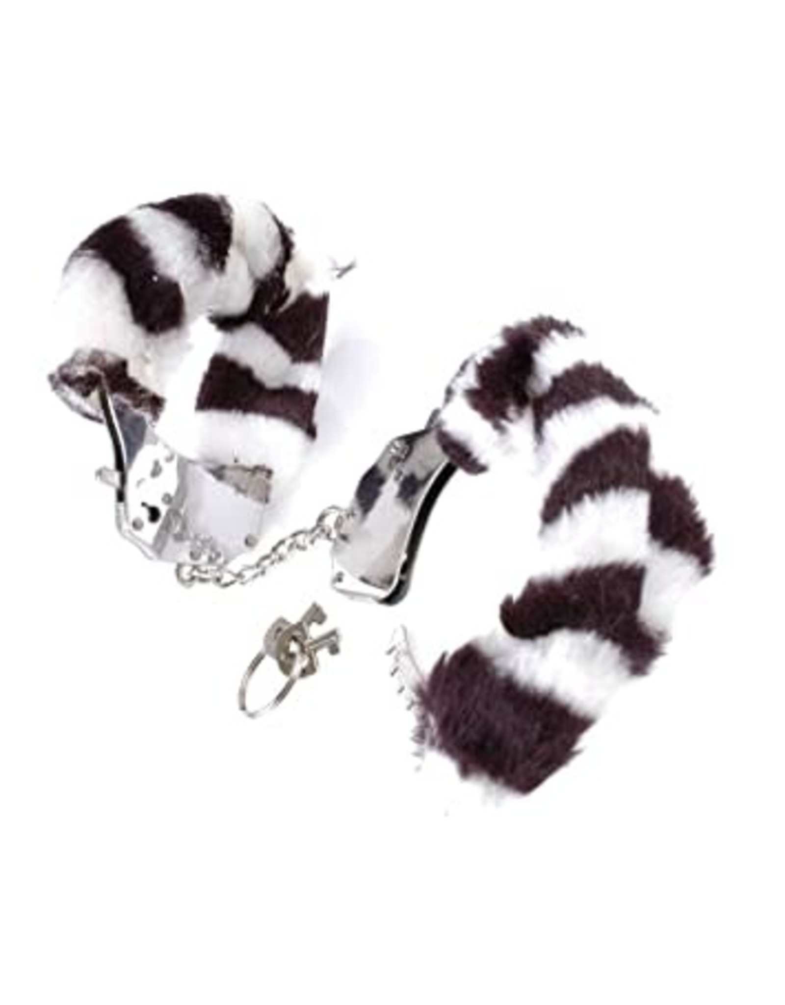 FETISH FANTASY - FURRY CUFFS - ZEBRA
