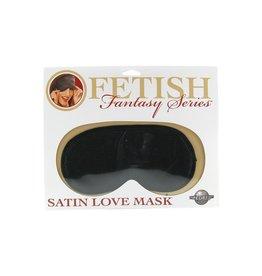 FETISH FANTASY - SATIN LOVE MASK - BLACK