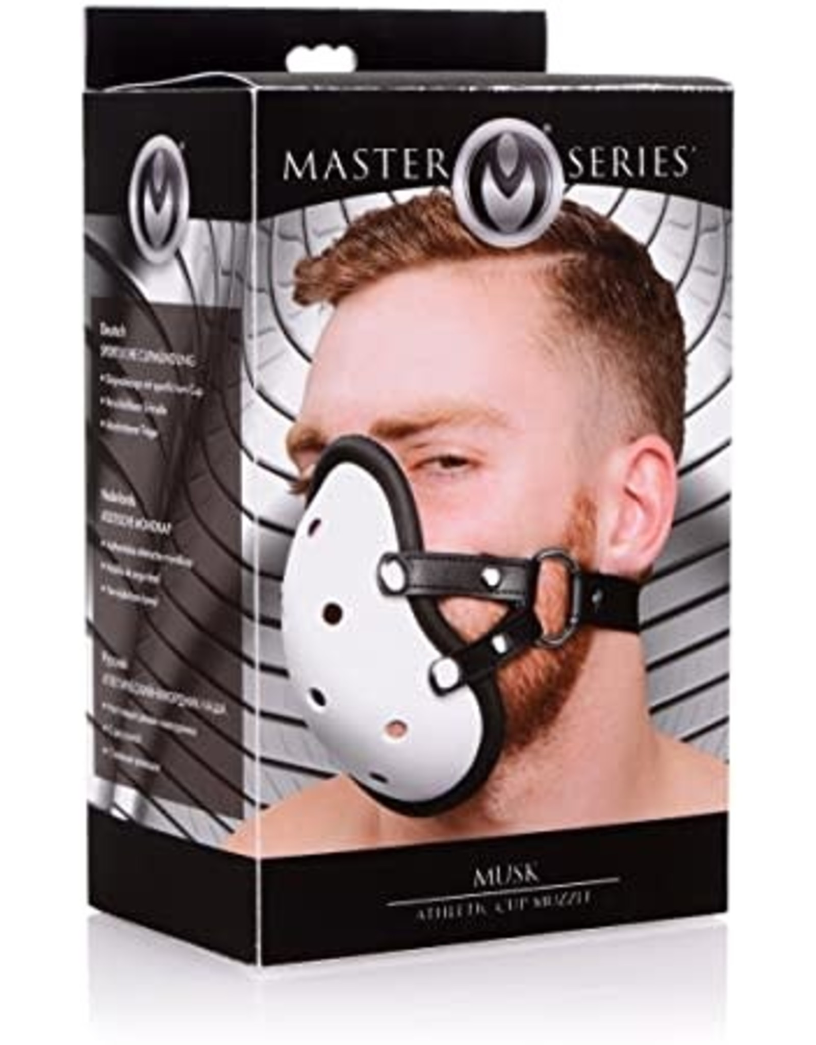 MASTER SERIES - MUSK ATHLETIC CUP MUZZLE