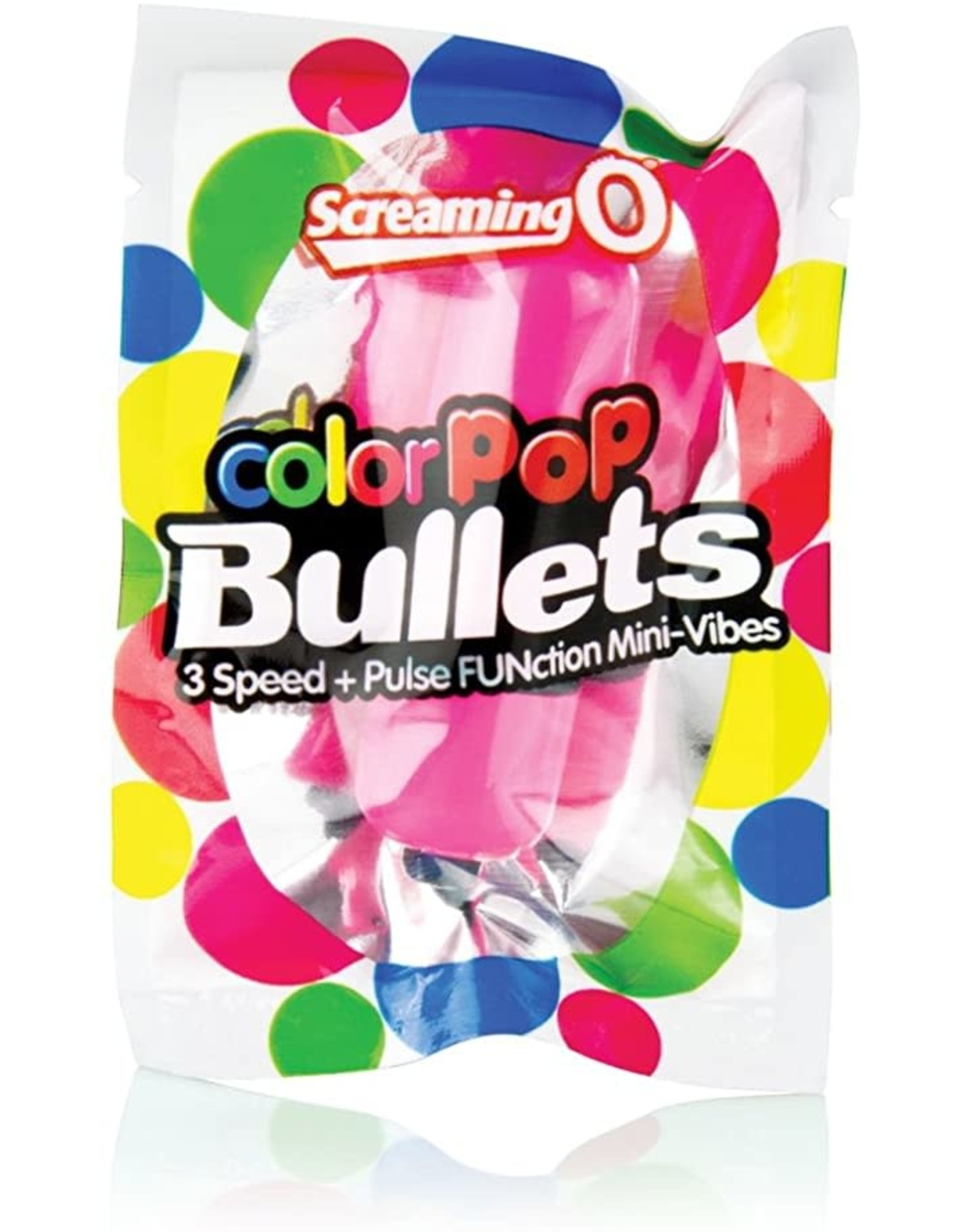 SCREAMING O - COLOR POP 3 SPEED BULLET - PINK