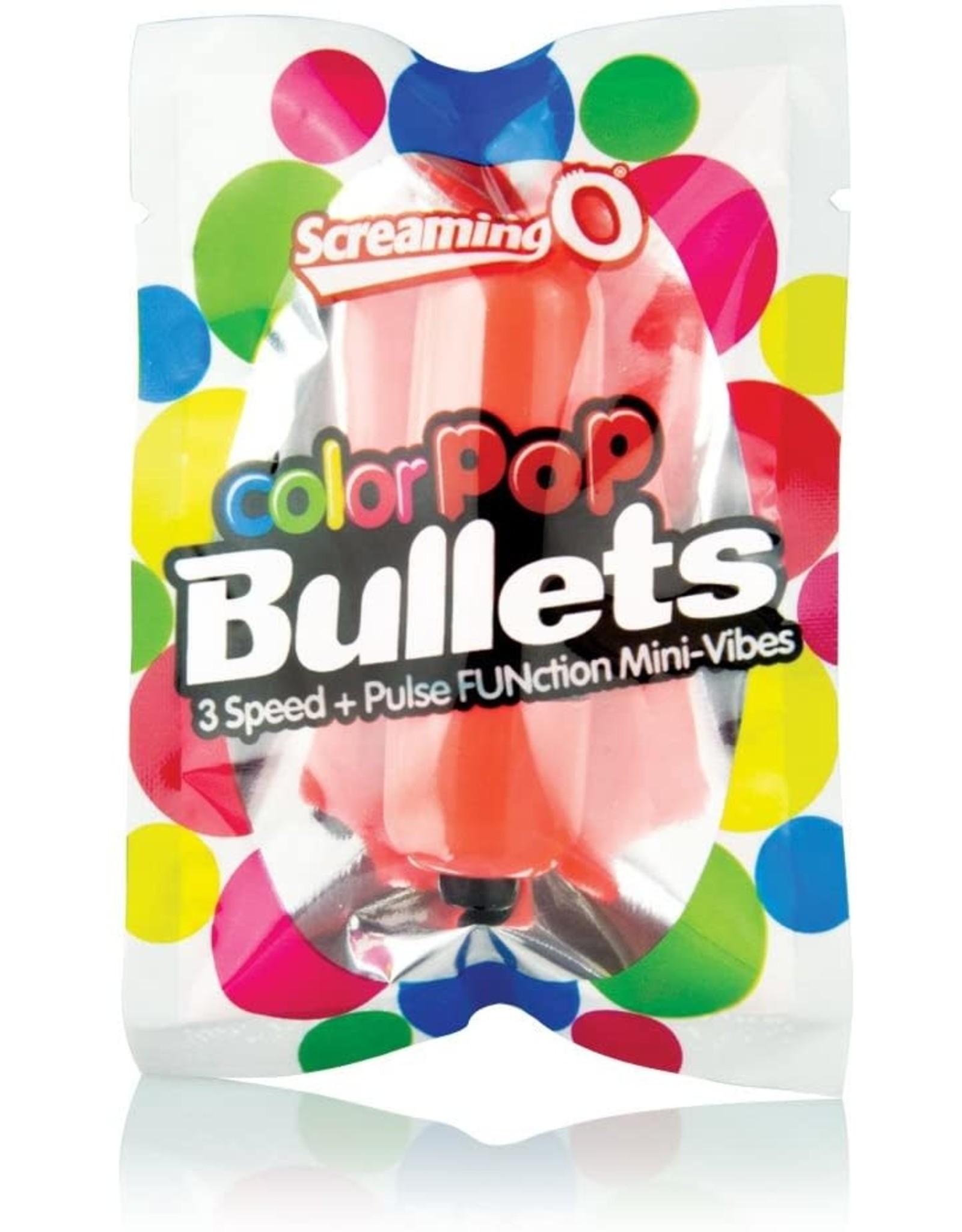 SCREAMING O - COLOR POP 3 SPEED BULLET - ORANGE