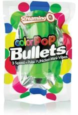 SCREAMING O SCREAMING O - COLOR POP 3 SPEED BULLET - GREEN