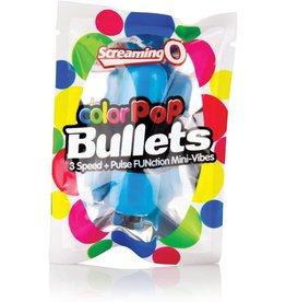 SCREAMING O SCREAMING O - COLOR POP 3 SPEED BULLET - BLUE