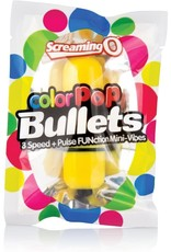 SCREAMING O - COLOR POP 3 SPEED BULLET - YELLOW