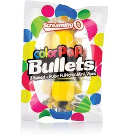 SCREAMING O SCREAMING O - COLOR POP 3 SPEED BULLET - YELLOW