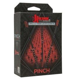 DOC JOHNSON - KINK - PINCH NIPPLE & CLIT TWEEZER CLIPS