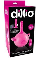 PIPEDREAM DILLIO - VIBRATING MINI SEX BALL - PINK