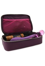 MINI MOI PLEASURE CASE - PLUME - EGGPLANT