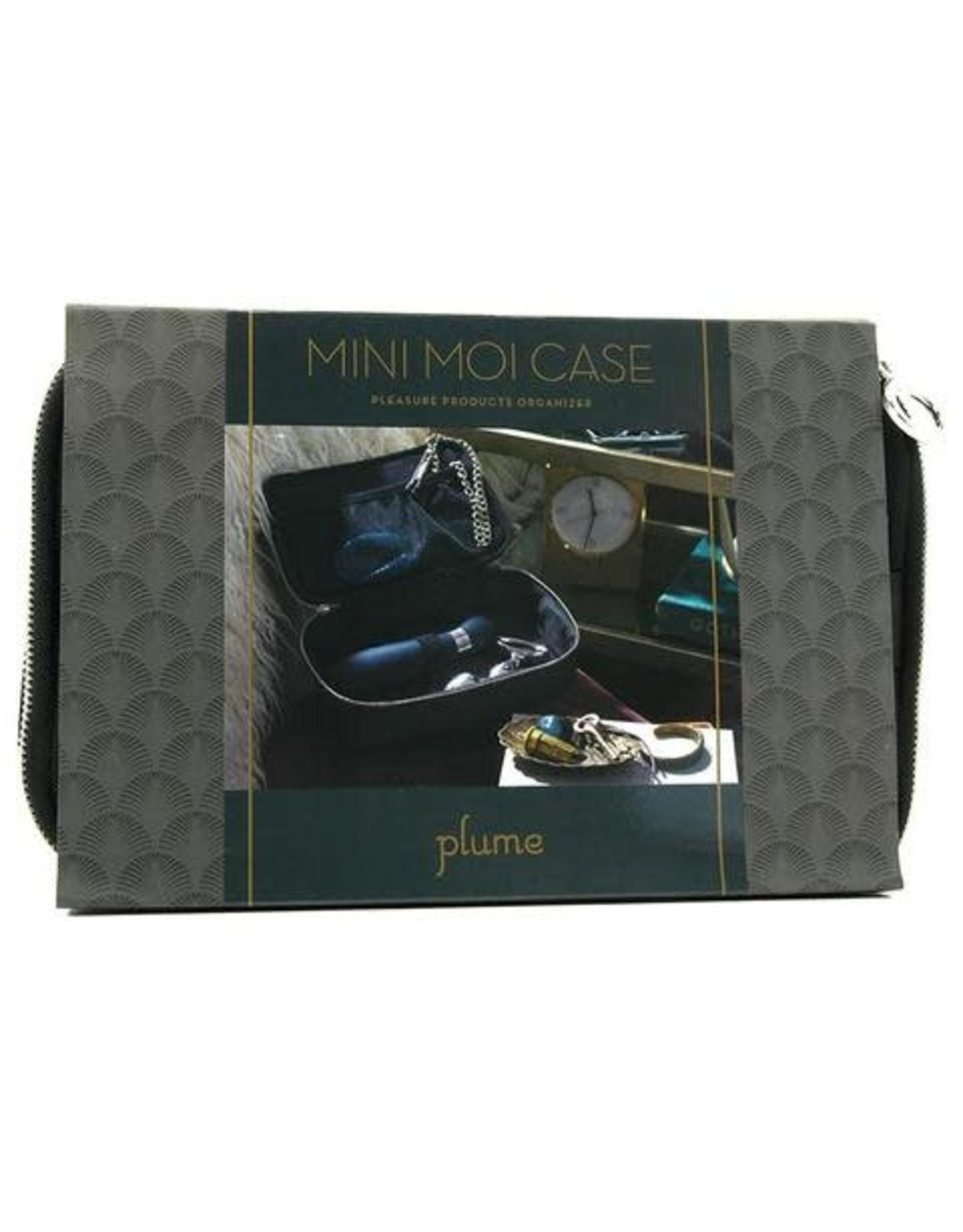 MINI MOI PLEASURE CASE - PLUME - BLACK