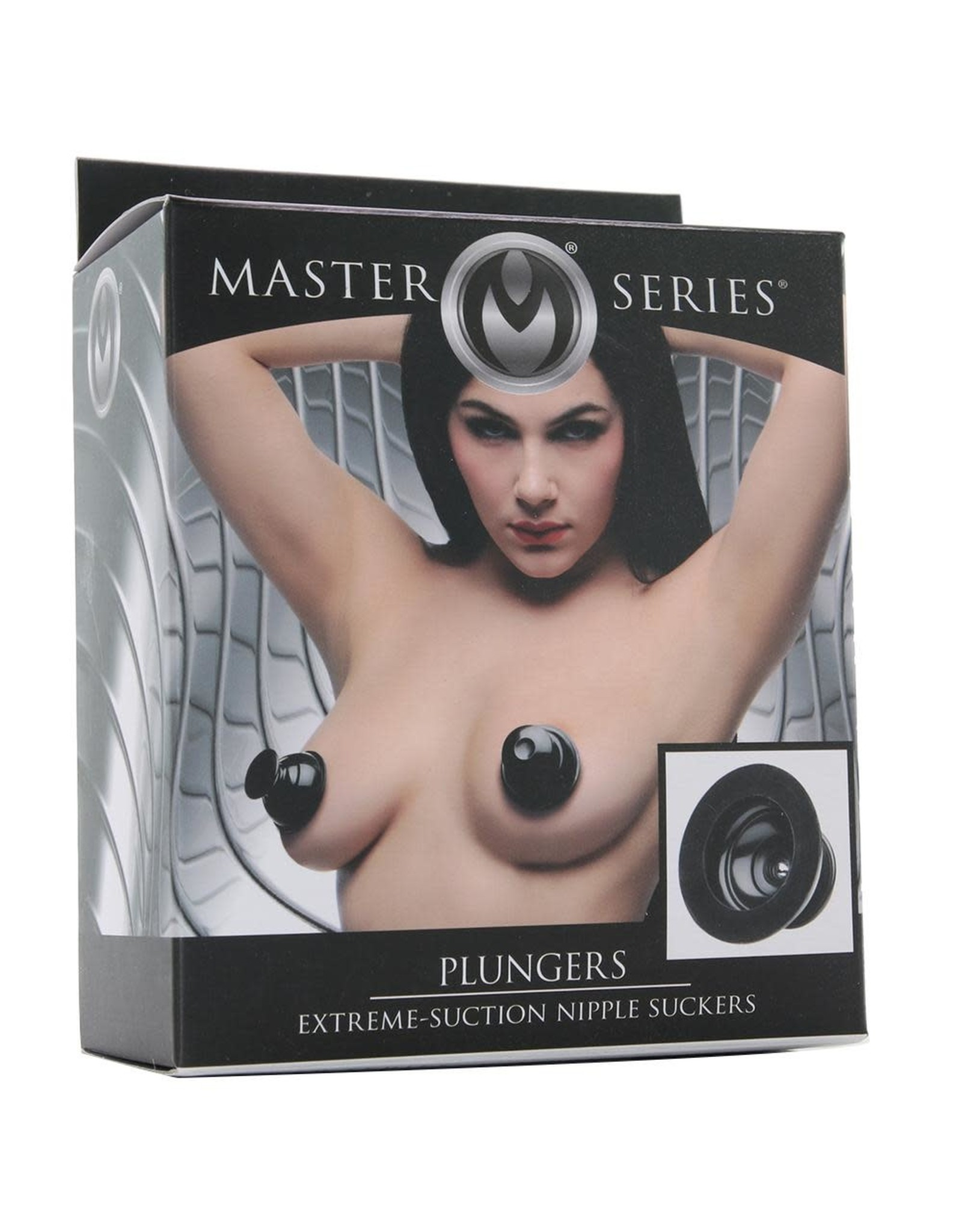 MASTER SERIES - PLUNGERS - EXTREME NIPPLE SUCKERS