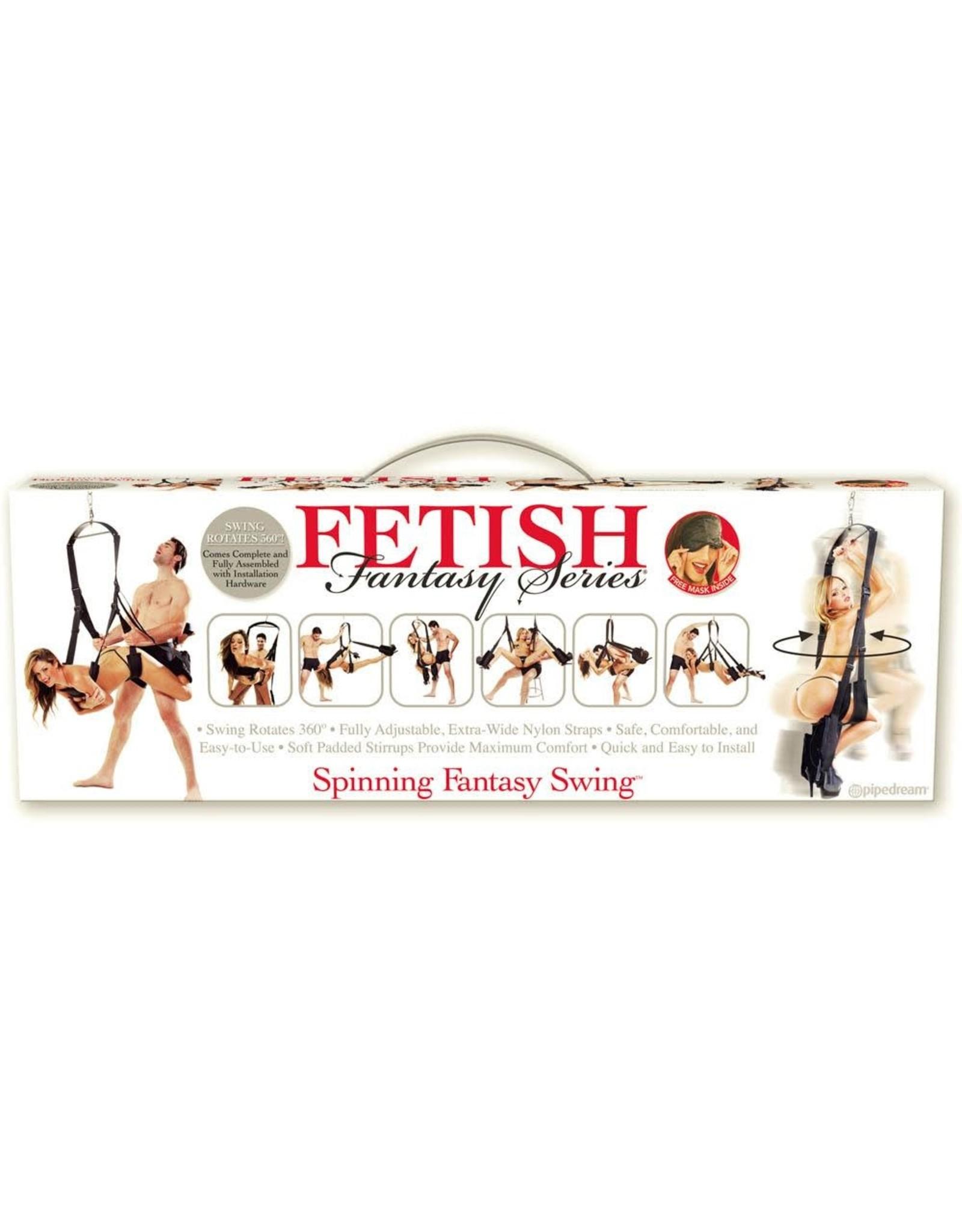 FETISH FANTASY PIPEDREAM - FETISH FANTASY - SPINNING FANTASY SWING - BLACK